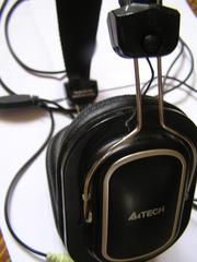 Наушники (гарнитура) A4-tech HS-200