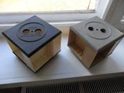 Фирменные аудиокассеты SONY, TDK, BASF и кассетные блоки.