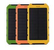 Солнечная батарея панель зарядное устройство двойное USB 10000 мАч